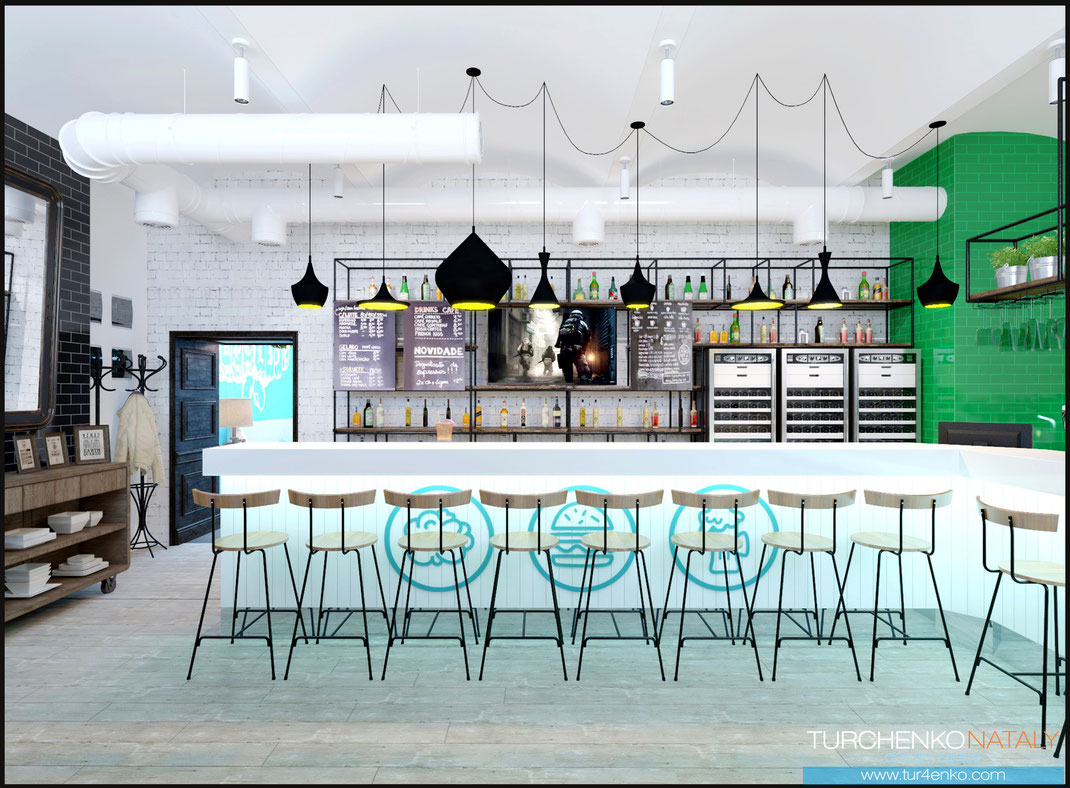 1 Дизайн ресторанов в Москве @tur4enkonataly