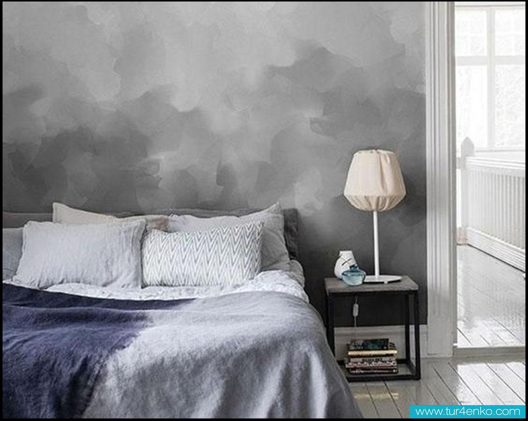 21 техника омбре на стенах ombre walls