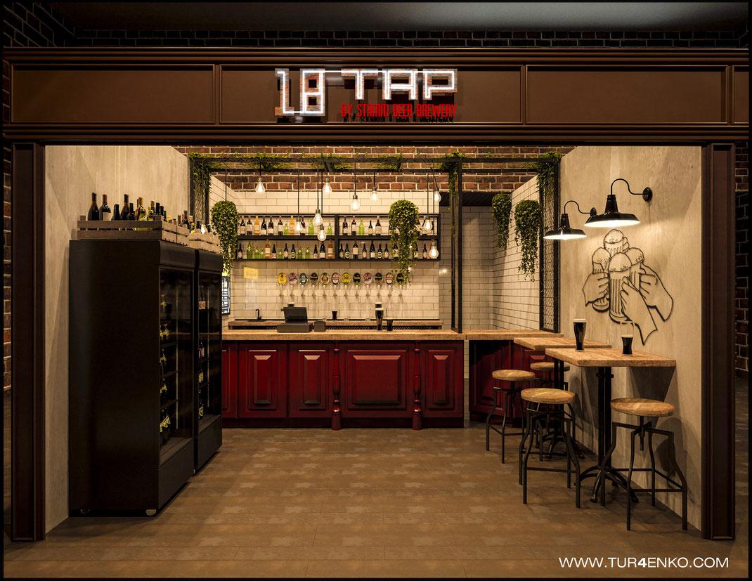 1 Дизайн ресторанов в Москве 89163172980