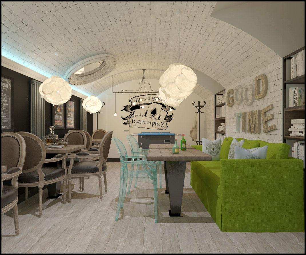 8 Дизайн ресторанов в Москве @tur4enkonataly