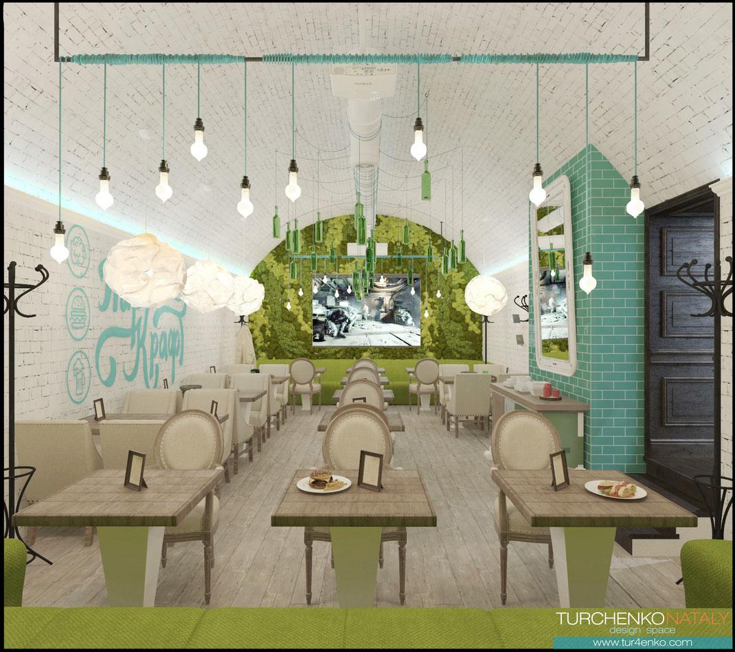 11 Дизайн ресторанов в Москве @tur4enkonataly