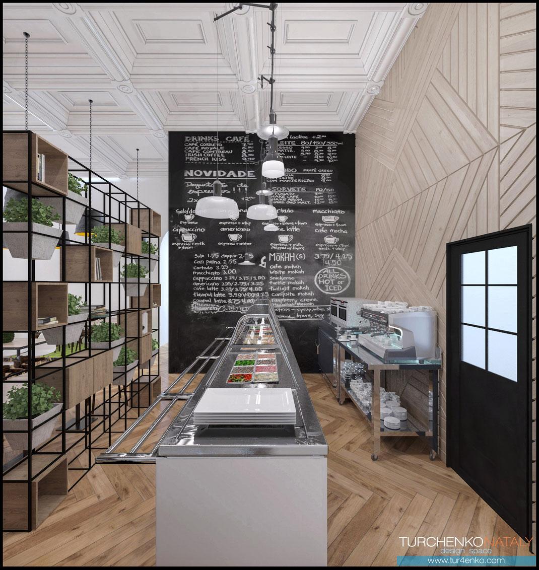 3 Дизайн ресторанов в Москве @tur4enkonataly
