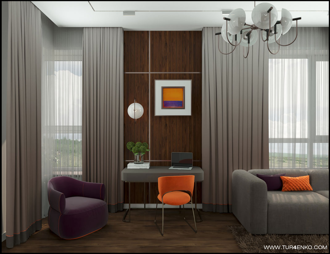дизайн гостевой спальни в жилом доме в КП Чистые пруды 89163172980