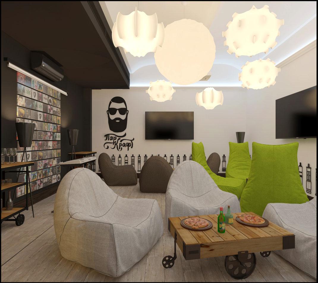 9 Дизайн ресторанов в Москве @tur4enkonataly