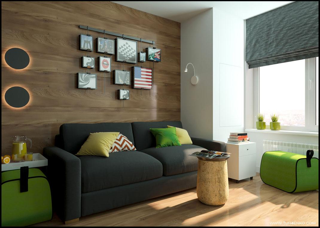 дизайн детской комнаты для мальчика в ЖК Среда  89163172980