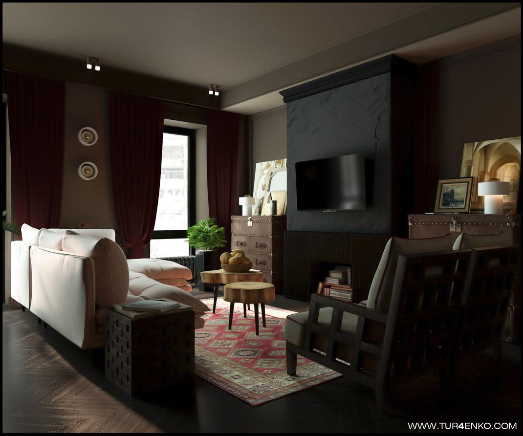 дизайн кухни-гостиной в ЖК Резиденции композиторов 89163172980 Турченко Наталия