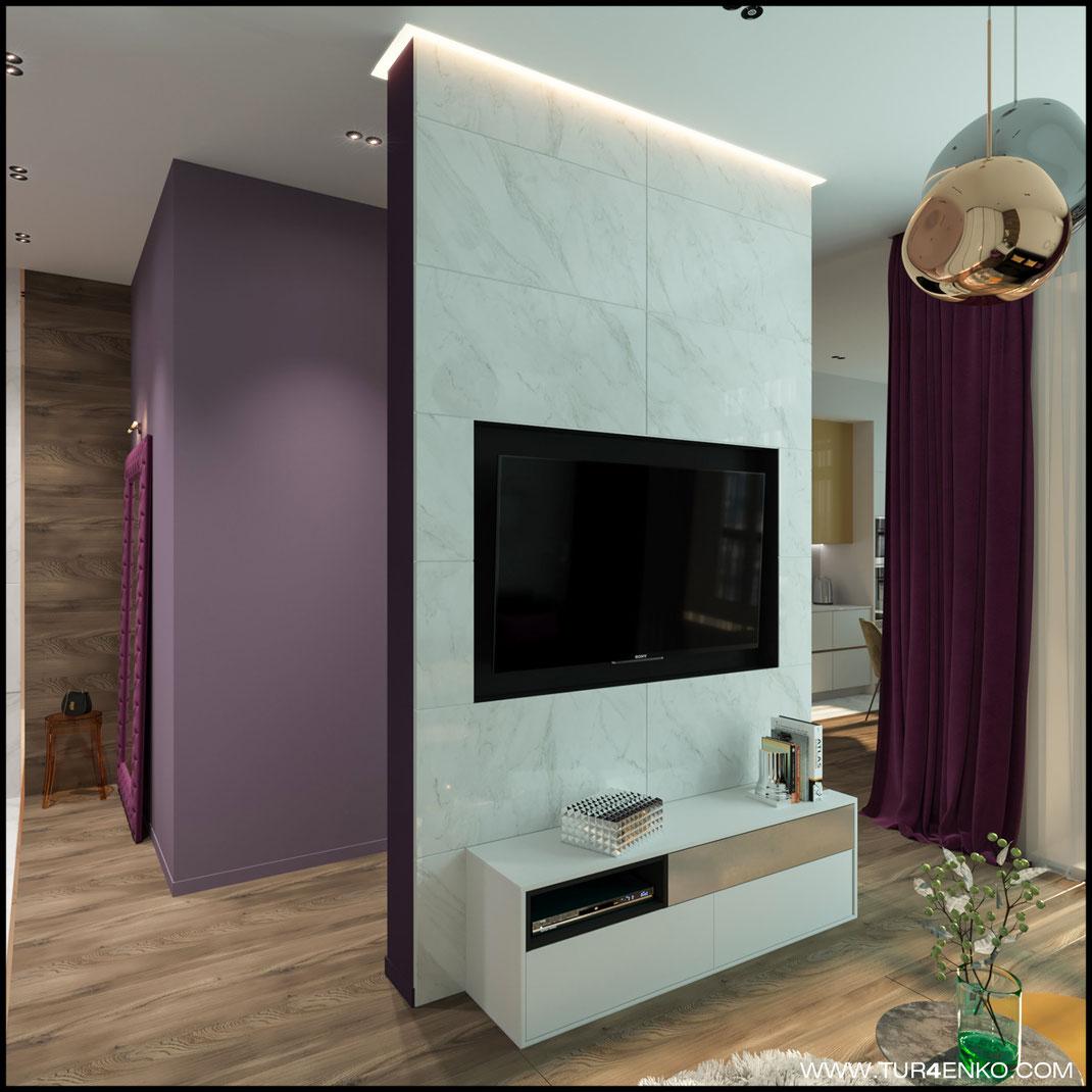 """дизайн гостиной в современном стиле в ЖК """"Зеленоград сити"""" 89163172980"""