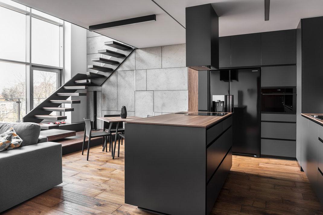 2 дизайн квартиры в стиле минимализм www.tur4enko.com