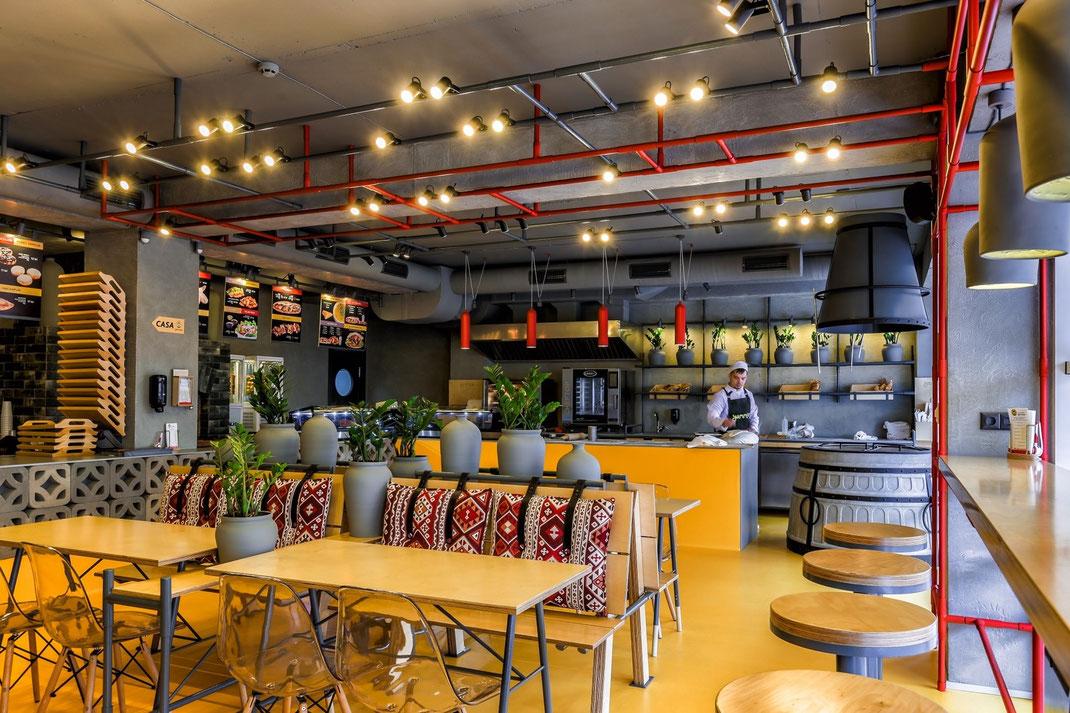 7 Дизайн кафе Yammino. Caucasian Grill