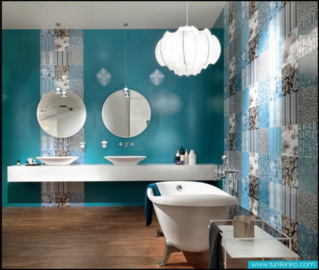 14 плитка пэчворк patchwork tile в ванной