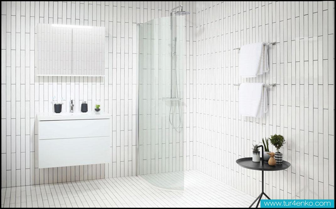 17 плитка кабанчик (метро) в ванной ДИЗАЙН ИНТЕРЬЕРОВ МОСКВА 89163172980 www.tur4enko.com