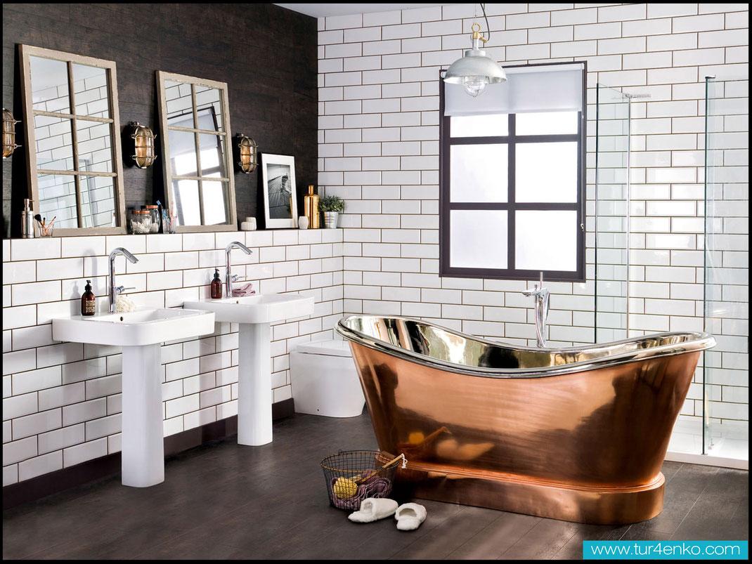 1 плитка кабанчик (метро) в ванной ДИЗАЙН ИНТЕРЬЕРОВ МОСКВА 89163172980 www.tur4enko.com