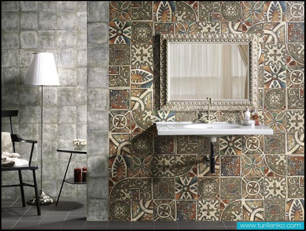 9 плитка пэчворк patchwork tile в ванной