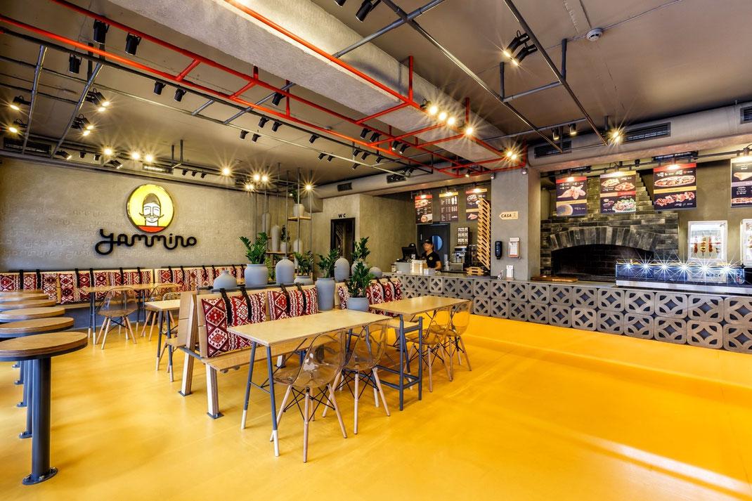 2 Дизайн кафе Yammino. Caucasian Grill
