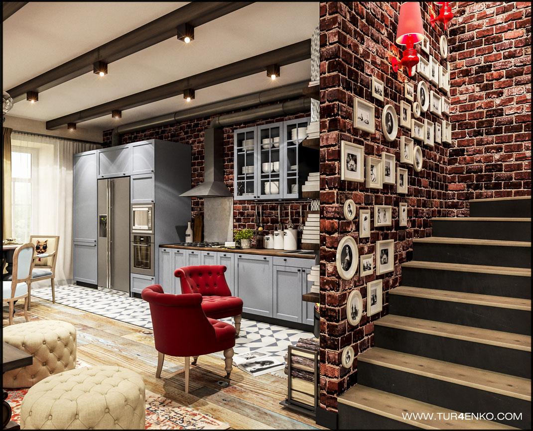 1. 1 этаж дизайн таунхаусов и домов Москва 8 916 317 29 80