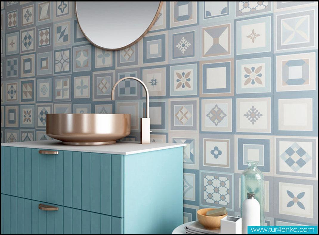 5 плитка пэчворк patchwork tile в ванной