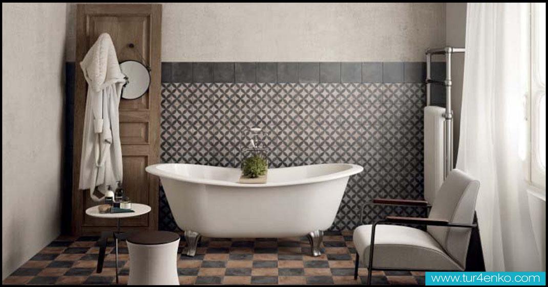 3 плитка пэчворк patchwork tile в ванной