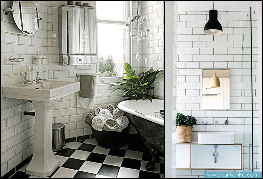 16 плитка кабанчик (метро) в ванной ДИЗАЙН ИНТЕРЬЕРОВ МОСКВА 89163172980 www.tur4enko.com