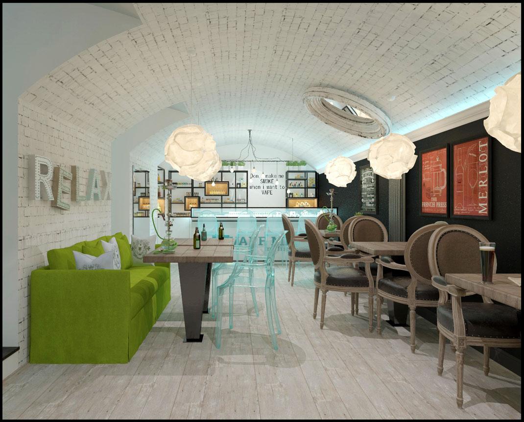 6 Дизайн ресторанов в Москве @tur4enkonataly
