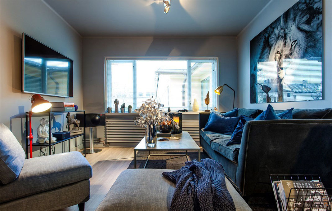 1 дизайн квартиры в стиле хайтек 89163172980