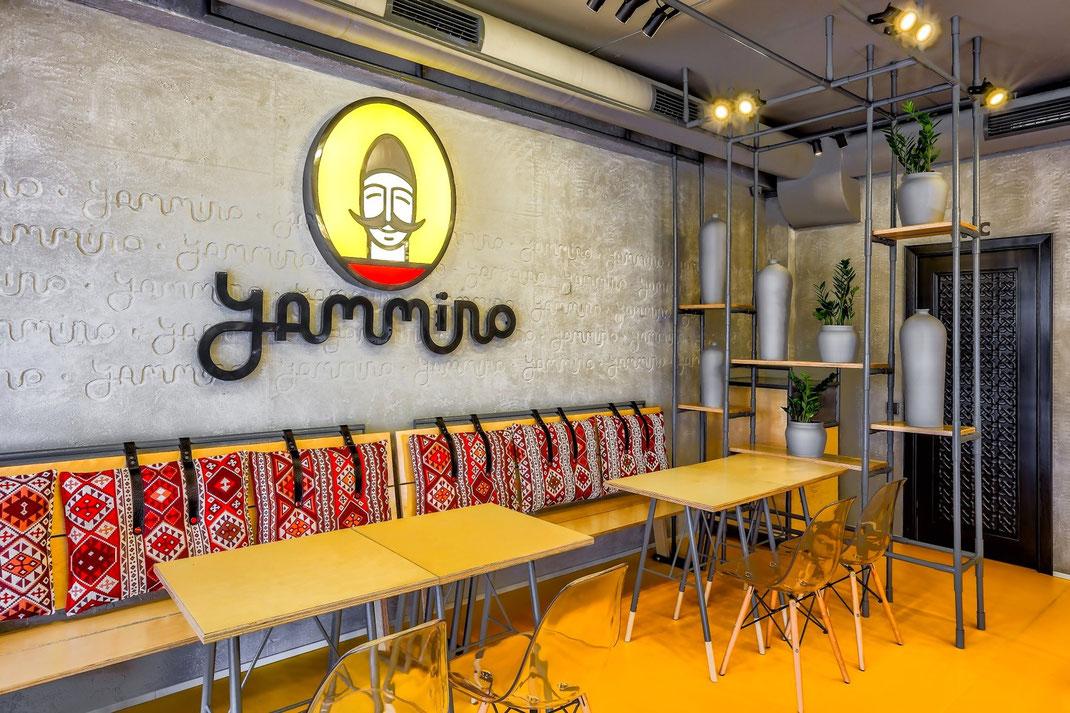 1 Дизайн кафе Yammino. Caucasian Grill