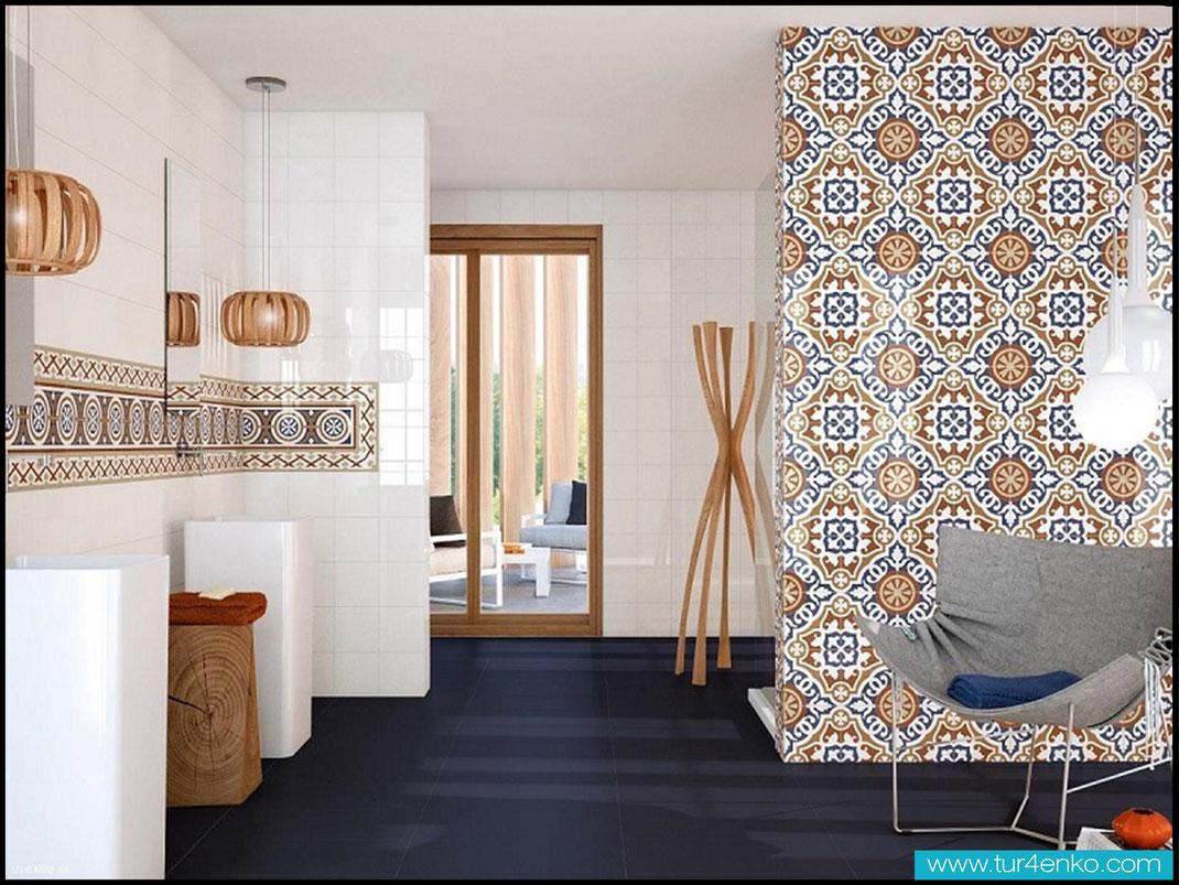 12 плитка пэчворк patchwork tile в ванной