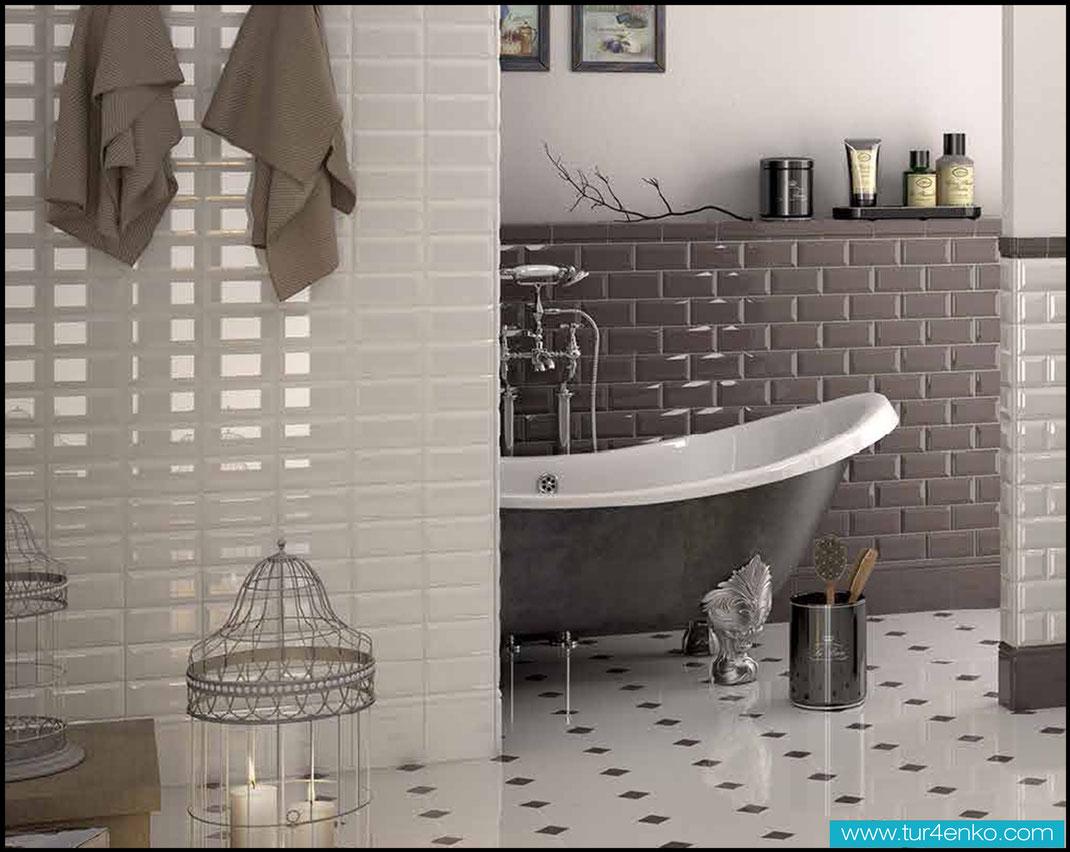 11 плитка кабанчик (метро) в ванной ДИЗАЙН ИНТЕРЬЕРОВ МОСКВА 89163172980 www.tur4enko.com