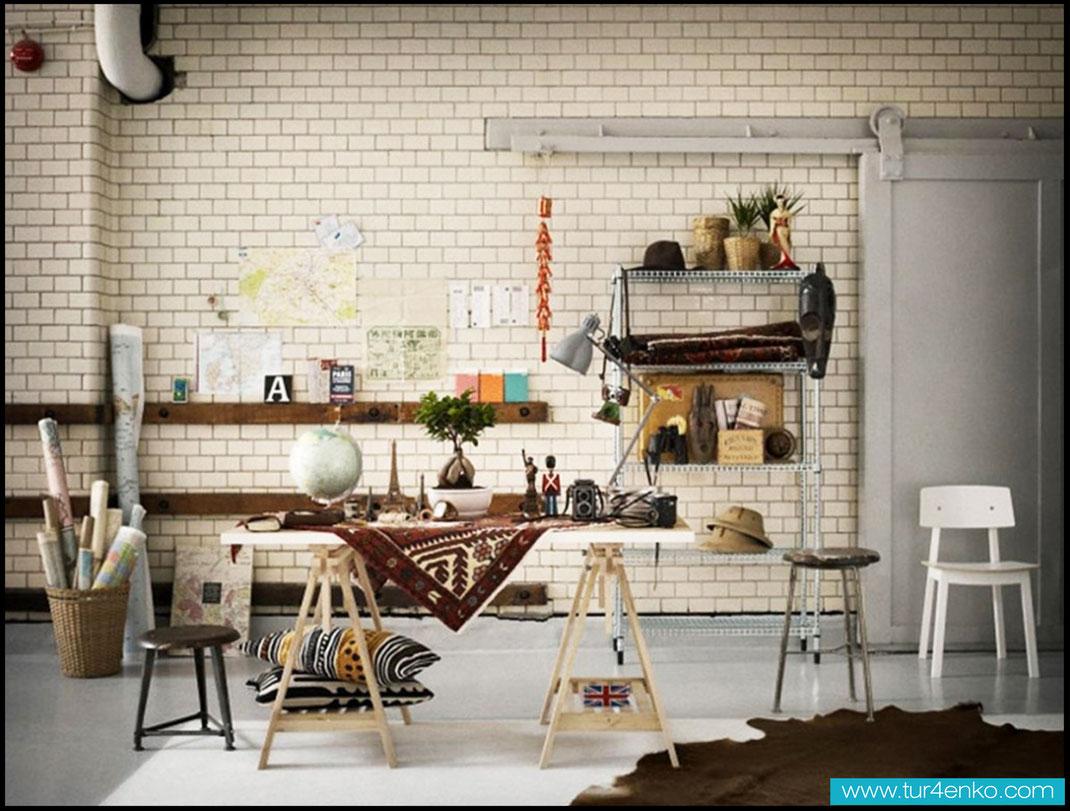 31 белый кирпич white brick ДИЗАЙН ИНТЕРЬЕРОВ МОСКВА 89163172980 www.tur4enko.com