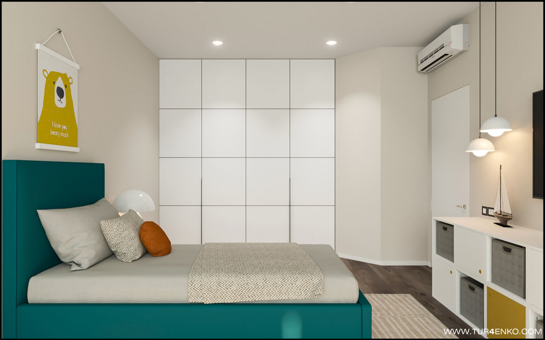 идеи для детской комнаты в ЖК Триколор 89163172980
