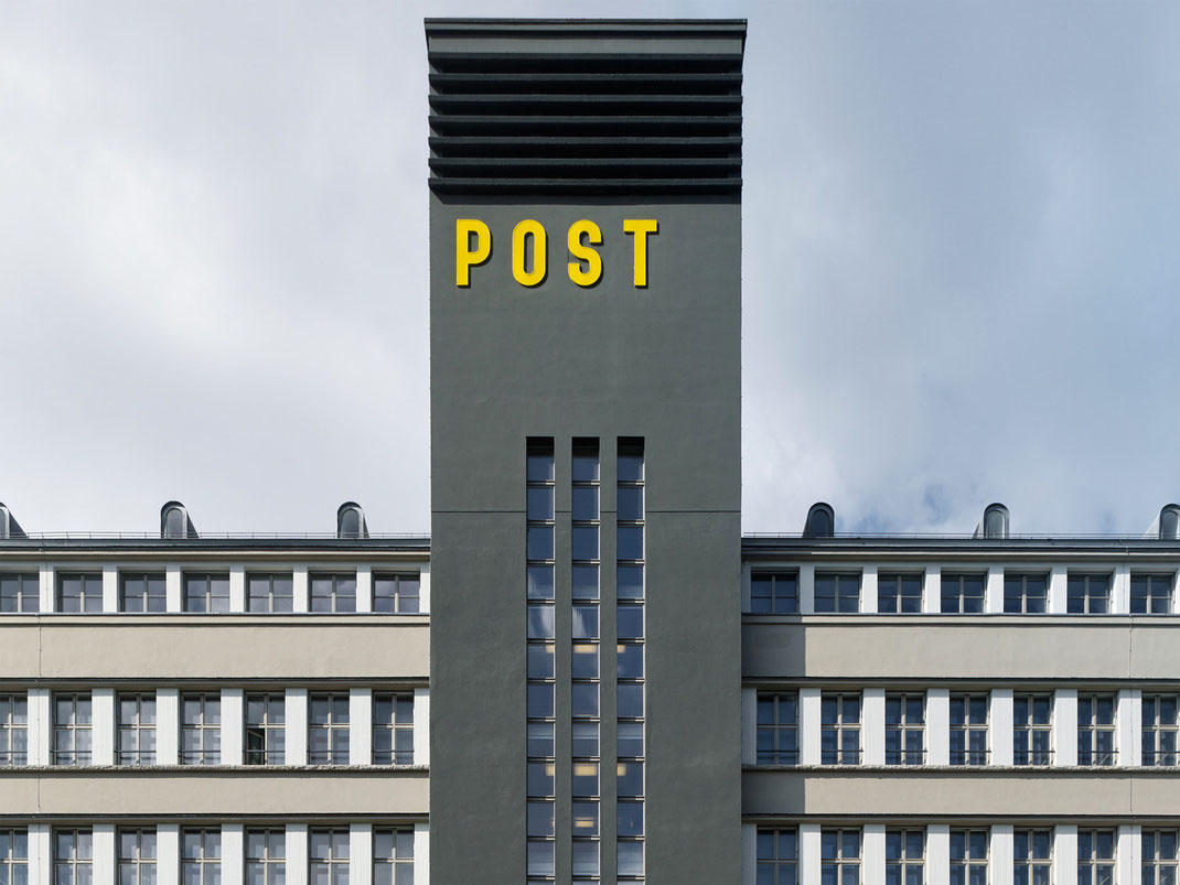 Дизайн ресторана Sihlpost Hiltl