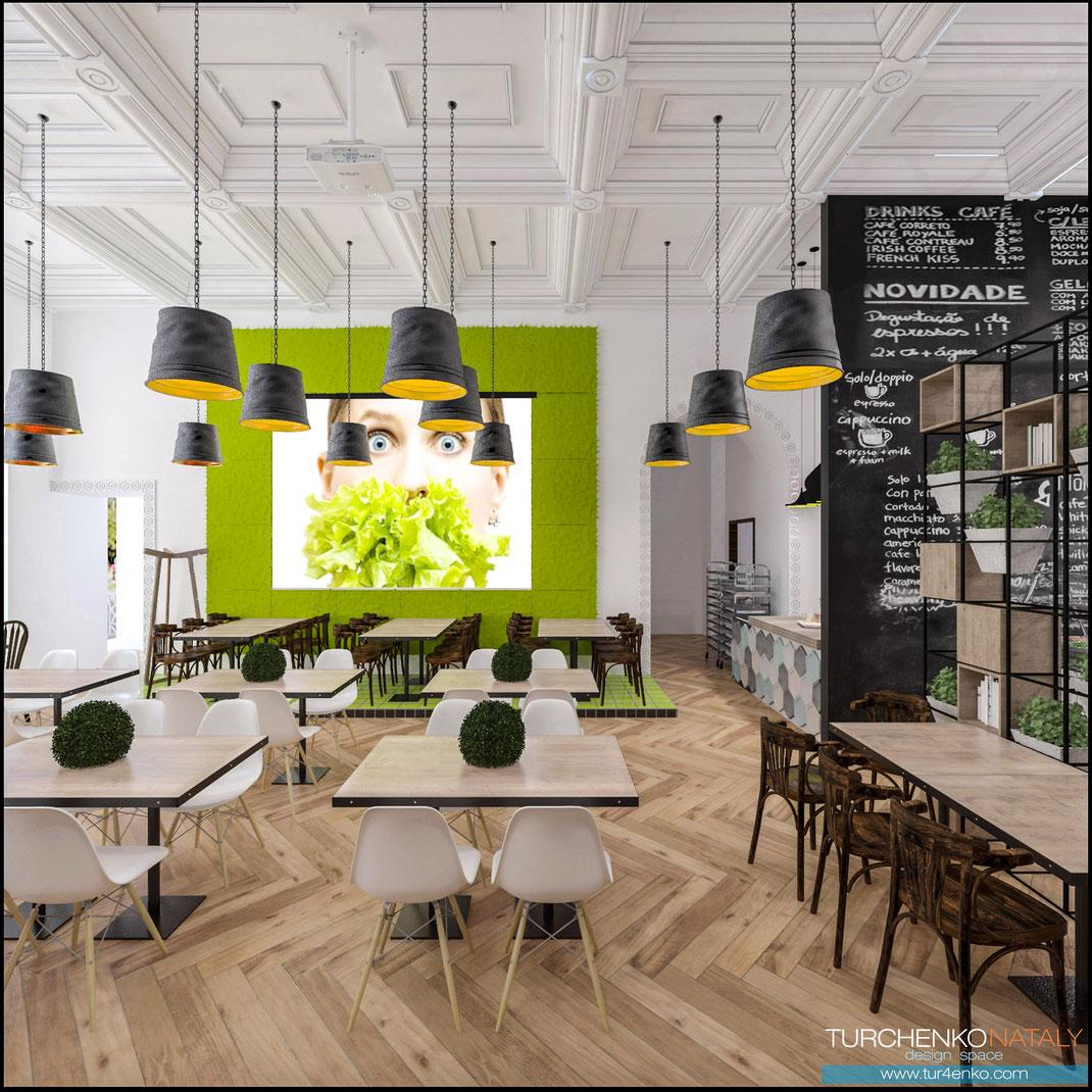 4 Дизайн ресторанов в Москве @tur4enkonataly