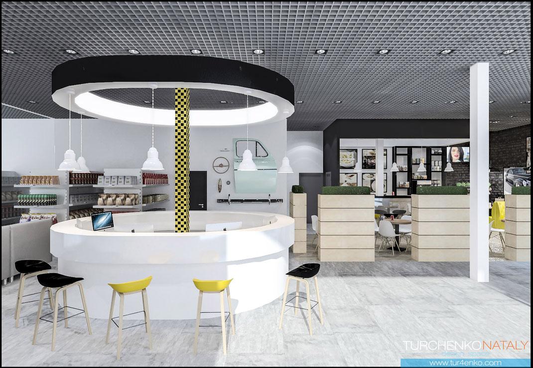Заказать дизайнпроект ресторана в Москве  под ключ www/Tur4enko.com
