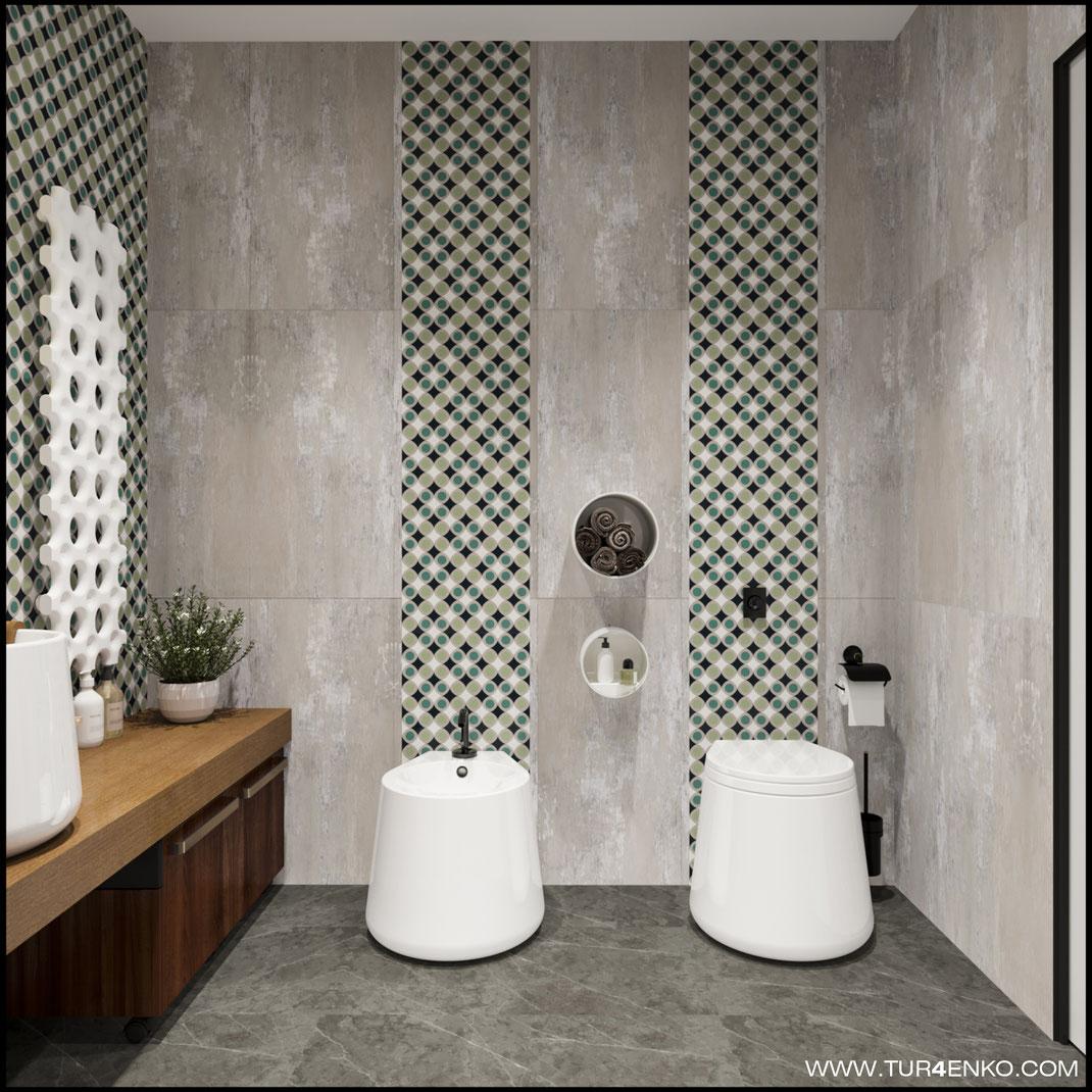 """дизайн ванной комнаты в ЖК """"Арт"""" Крост 89163172980 Дизайн интерьеров Москва"""