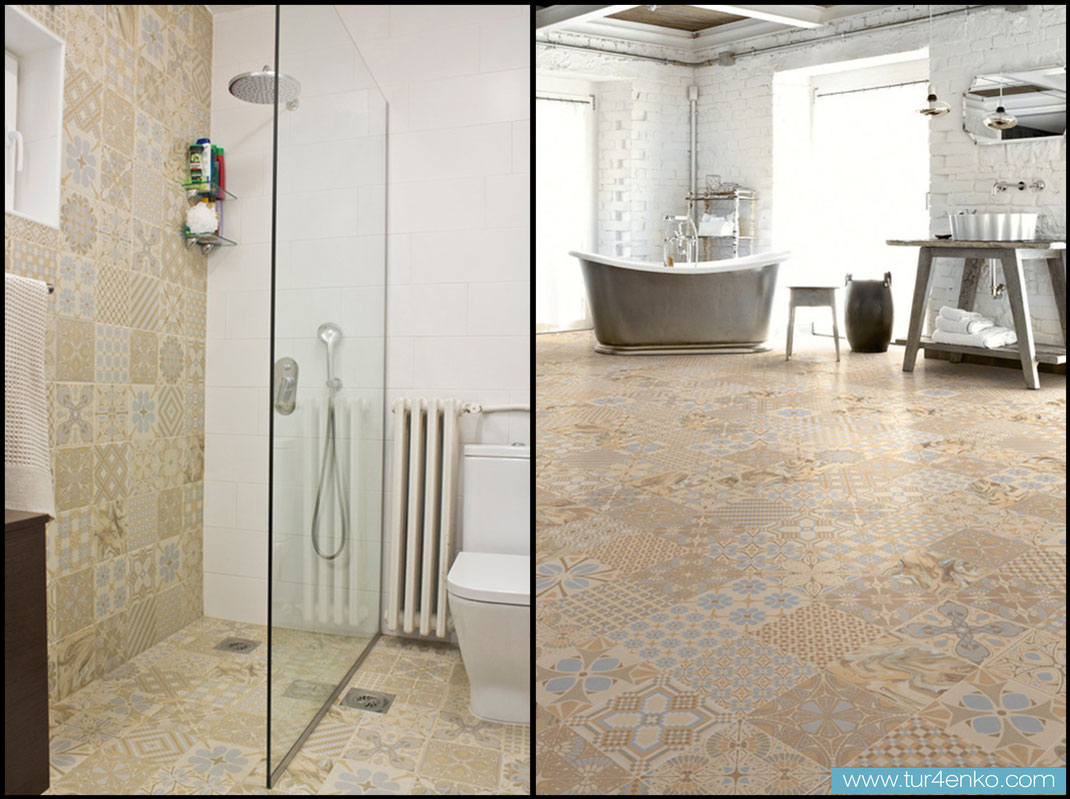 15 плитка пэчворк patchwork tile в ванной