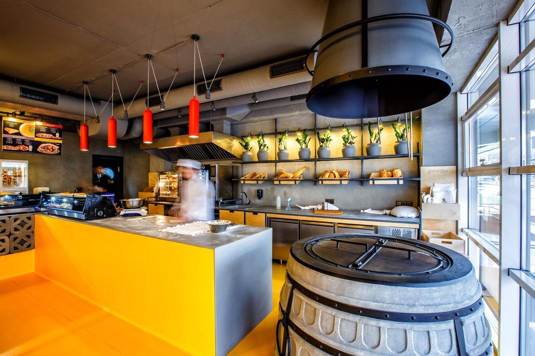 6 Дизайн кафе Yammino. Caucasian Grill