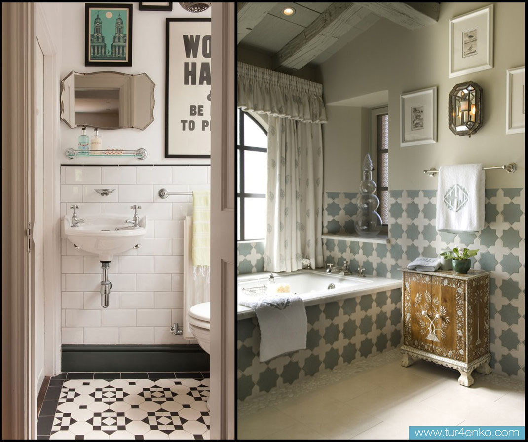 8 плитка пэчворк patchwork tile в ванной
