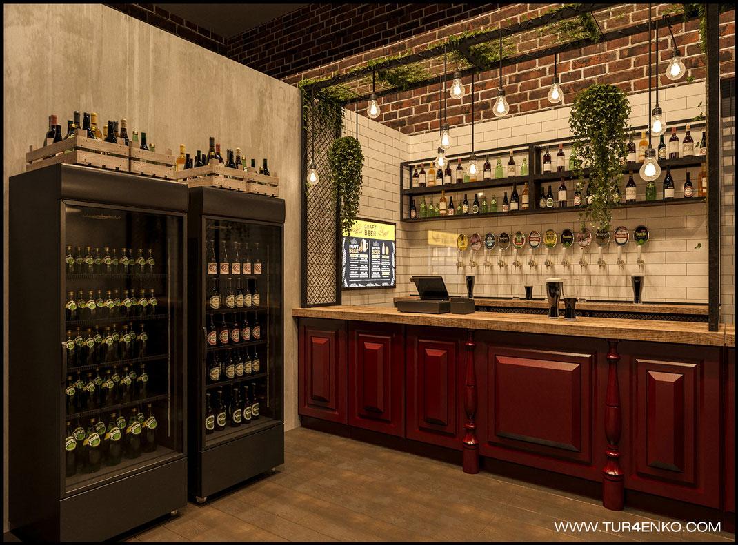 4 Дизайн ресторанов в Москве 89163172980