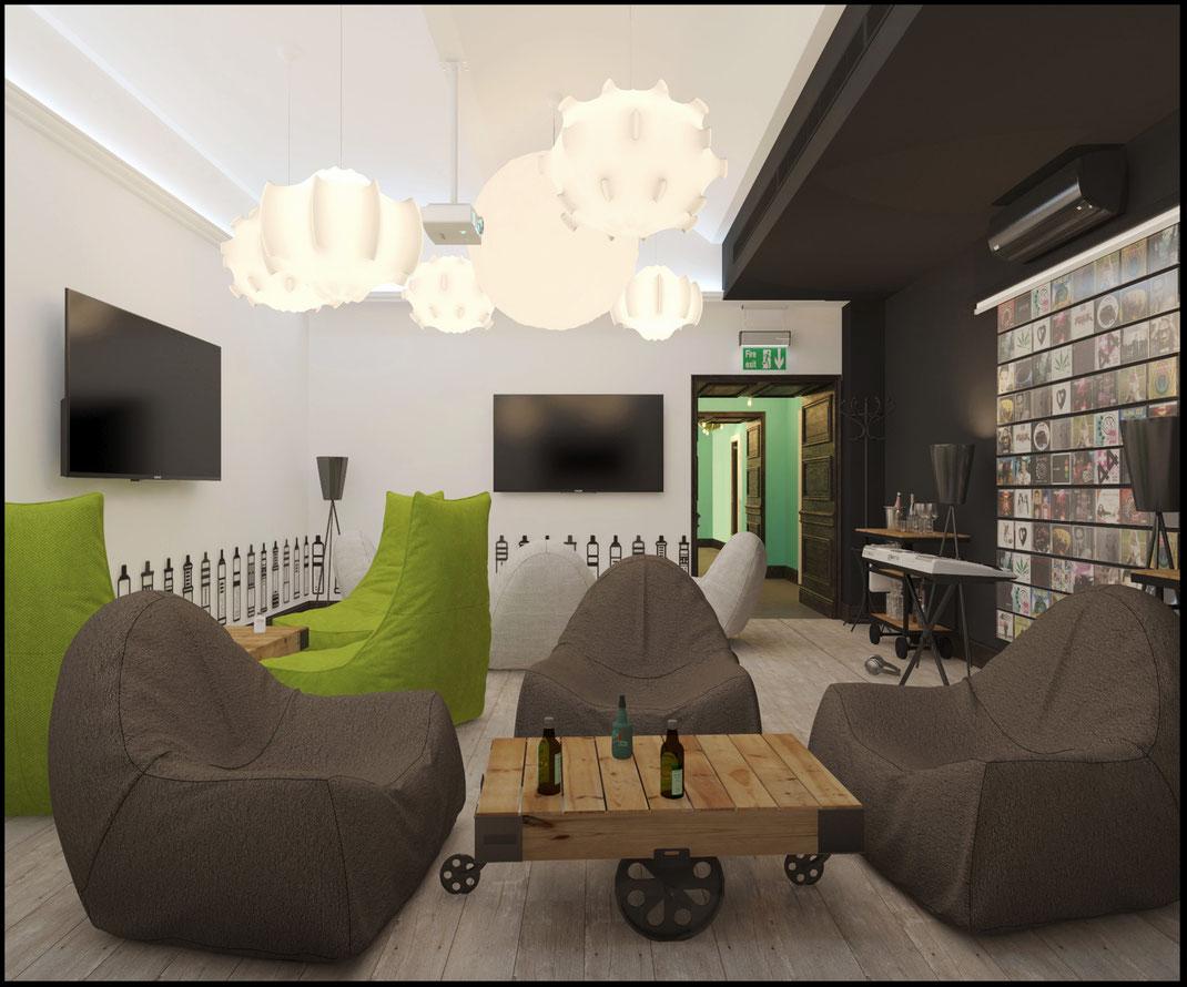 10 Дизайн ресторанов в Москве @tur4enkonataly