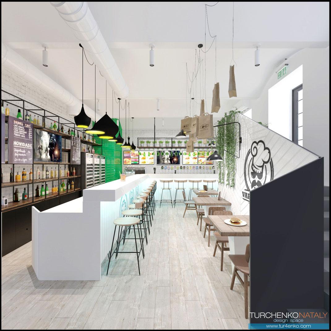 2 Дизайн ресторанов в Москве @tur4enkonataly