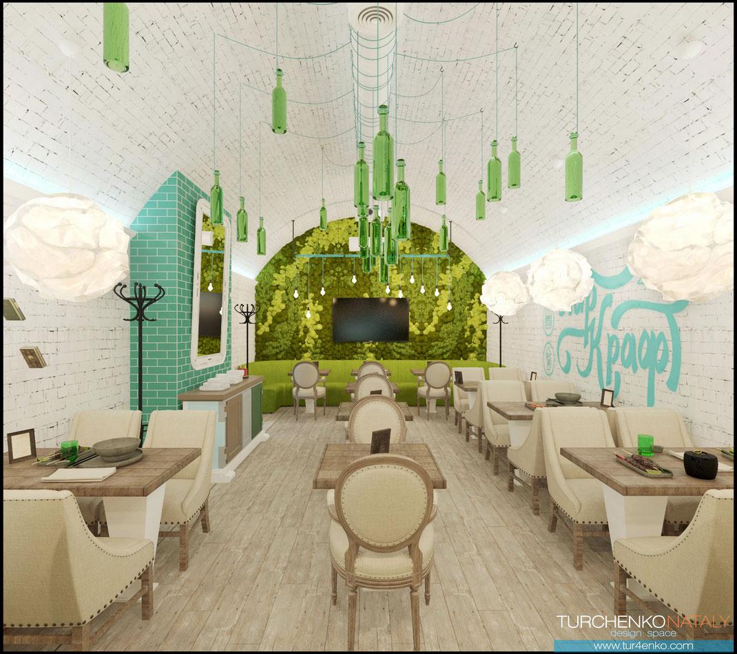 12 Дизайн ресторанов в Москве @tur4enkonataly