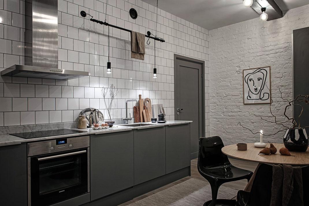 8 дизайн квартиры в скандинавском стиле www.tur4enko.com