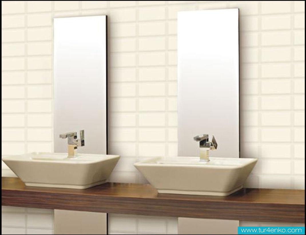 9 плитка кабанчик (метро) в ванной ДИЗАЙН ИНТЕРЬЕРОВ МОСКВА 89163172980 www.tur4enko.com