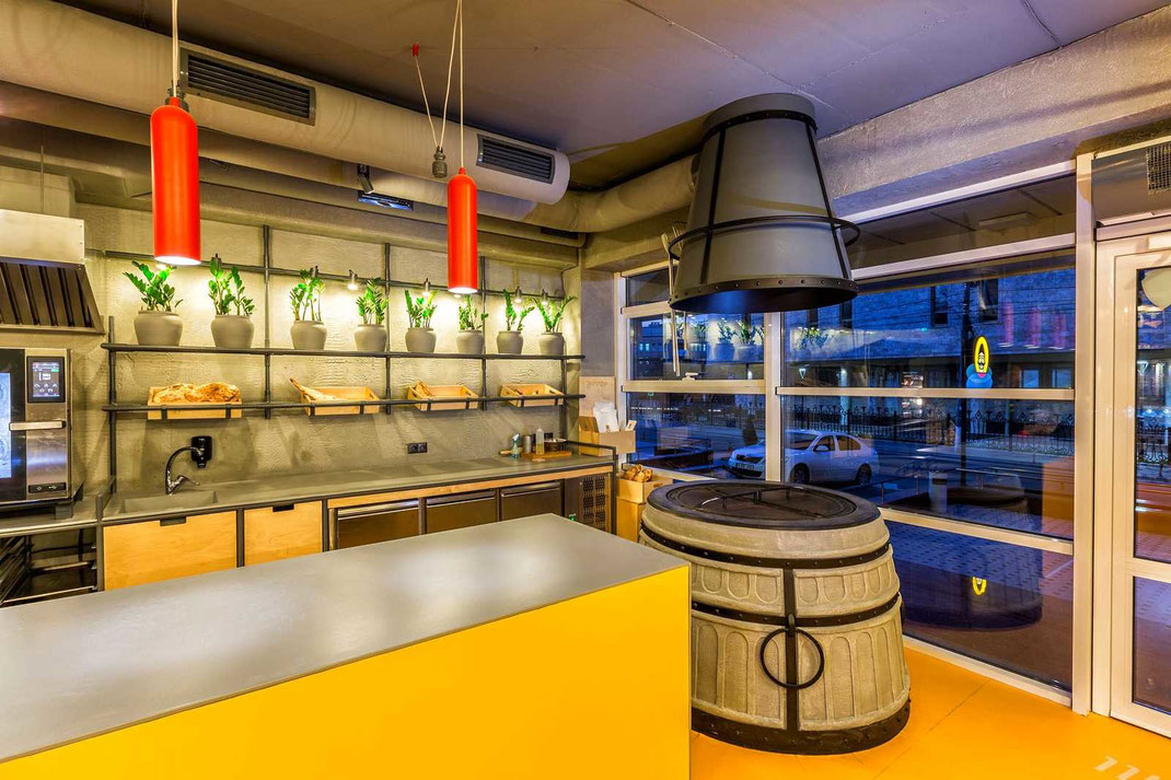 4 Дизайн кафе Yammino. Caucasian Grill