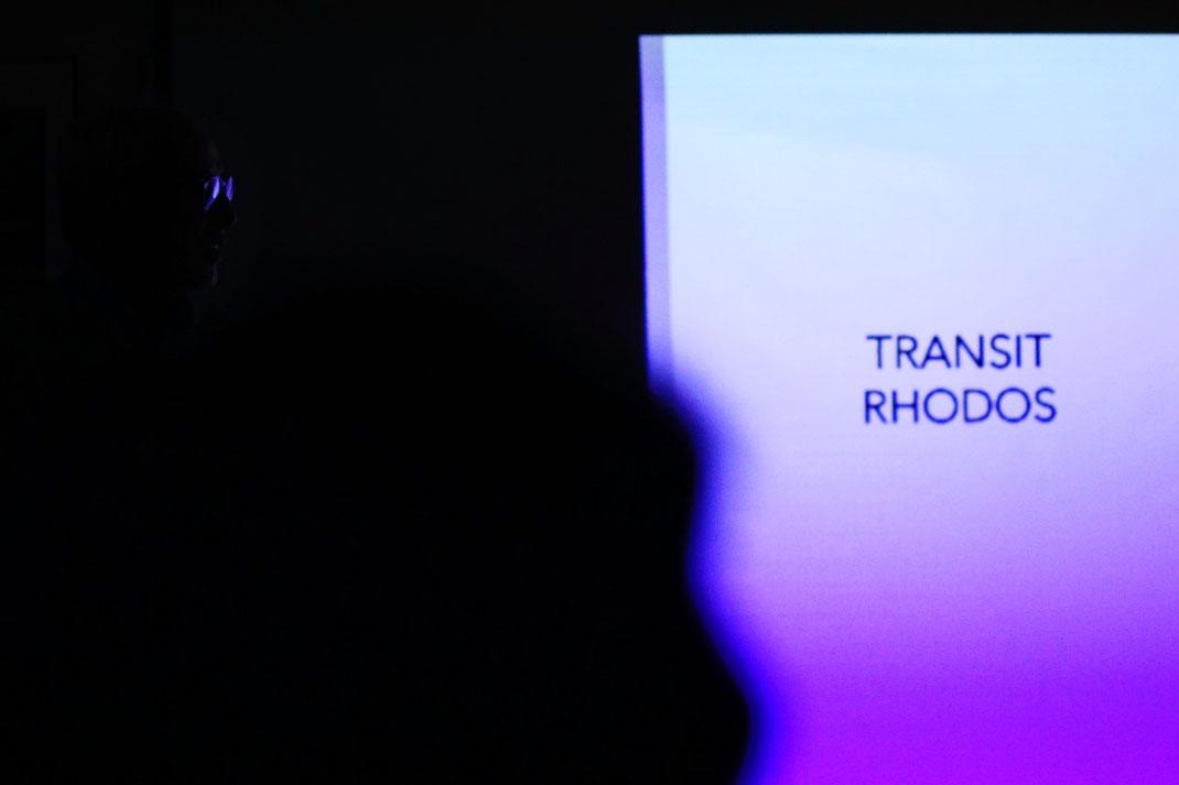 Finissage im Kunstverein Schallstadt: Transit Rhodos von Hennric Jokeit