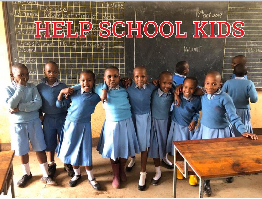 Baumhauer Outdoorsport Spendenprojekt für Schulkinder und deren Schule in Afrika