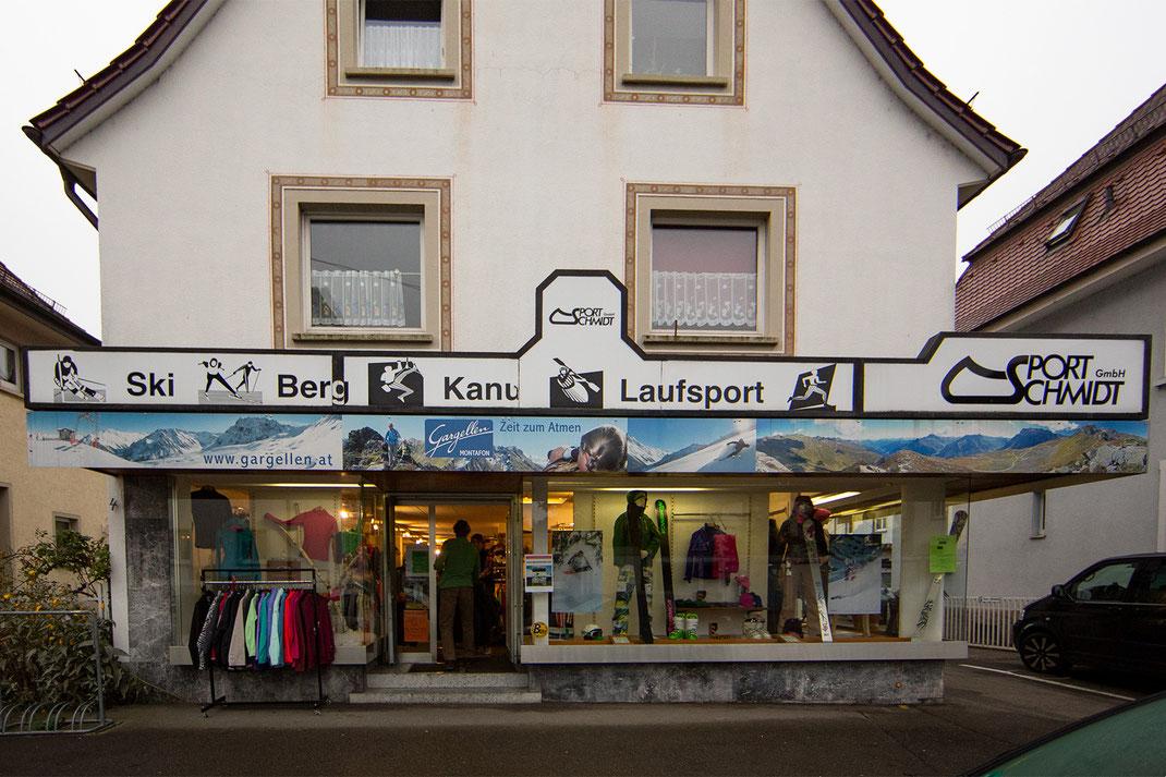 Geschichte: Sport Schmidt in Friedrichshafen
