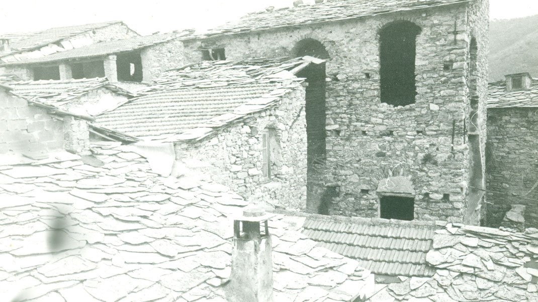 die Haushülse des heutigen Hauses de Sonnaz I Anfang 1973