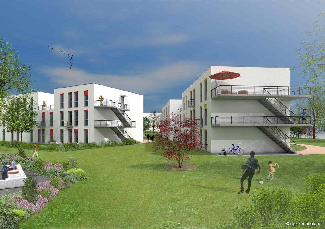 dgk-architekten_Job und Wohnen_Havelschanze_Berlin_Außenraum und Terrassen_Mitarbeiterwohnen