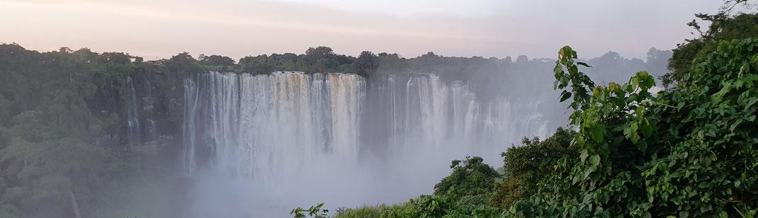 Kalandula Wasserfälle in Malange Angola Afrika