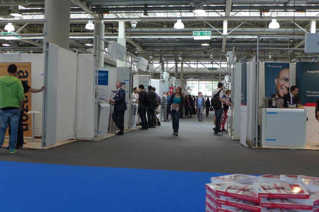Firmenkontaktmesse, Messe, Jobmesse, Schülerexkursion, Bonding,
